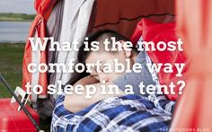 Let's be honest, most of us like our home comforts, and getting a good night's sleep is at the top of the list. When we go camping, there have to be some compromises, so I decided to find what is the most comfortable way to sleep in a tent. Ways To Sleep, Home Comforts, Go Camping, Tent, Let It Be, Night, Store, Tents