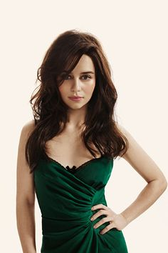 Emilia Clarke - She is gorgeous and I love her in game of thrones. She's also in the running for 50 shades Ana Steele. Hope she gets it.