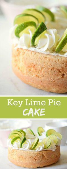 ... on Pinterest | Chocolate angel food cake, Key lime and Key lime cake