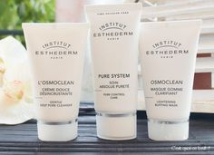 osmoclean Institut Esthederm, Pores, French Beauty, The Struts, Creme, Anti Aging, Health And Wellness, Giveaway, Skincare