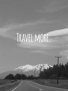 travel more via Randomly Happy