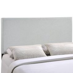 Enhance your bed of choice with a spaciously designed modern headboard. Zone captures the expansive moments of restful nights with an elegance that doesn't detract from the simplicity of the design.