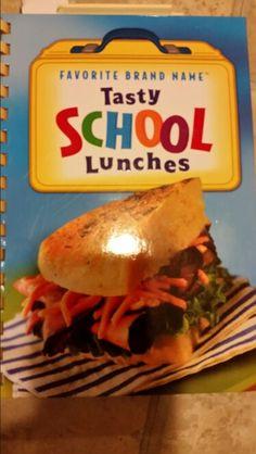 School lunches cookbook