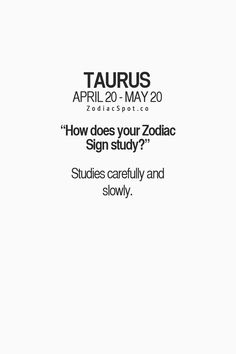 How does your Zodiac Sign study? Find out here