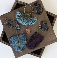 hand-smocked, hand-dyed, repurposed silk creations spoke to me as much as her words – of romantic soft edges, movement, day dreams and the poetry of daily life. Known as Eva, she was creating quite a stir with her unusual jewelry.