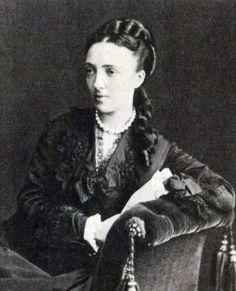 Вел. кн. Ольга Федоровна (1838-1891), ур. пр. Баденская. муж-Вел. кн. Михаил Николаевич (1832-1909),