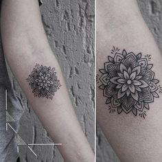 Mandala tattoo by @rachainsworth · Berlin
