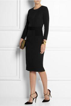 Loredana Stretch-Crepe Dress, £210 | By Malene Birger