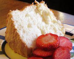 GF Lemon Angel Food Cake (0r vanilla, or orange)