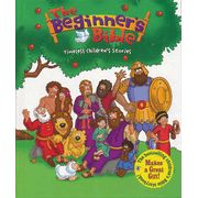 The Beginner's Bible: Timeless Children's Stories   -  This easy-to-read book, with two narrated CDs and full-color illustrations, brings God's word to life for children.  This is a perfect way to introduce bible stories to young children.