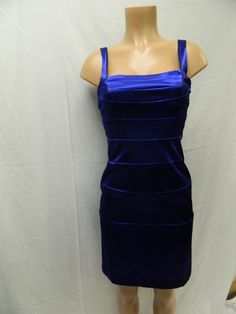 Blue mid-length Dress from Niki by Niki Livas Our Price - 19.99 August 2014