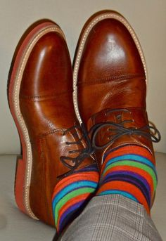 Boemos shoes- I love a man who is shows a quirky side of himself.
