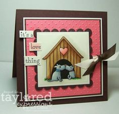 Taylored Expressions Peek! It's A Love Thing! by Kharmagirl - Cards and Paper Crafts at Splitcoaststampers