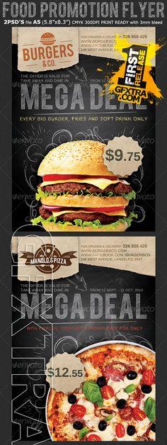 Graphicriver - Restaurant/Food Promotion Flyer Template 8690071