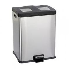 Step-on 15 Gallon Receptacle Waste Recycling Station Stainless Steel Regular price$ 163.28 Add to Cart safco Safco Right-Size Step-on 15 Gallon Receptacle Waste Recycling Station Stainless Steel  Hands free, step-on receptacle.Lid closes slowly and quietly. Includes two rigid plastic liners with built-in bag retainers. Contains two, 7.50 gallon capacity liners for overall capacity of 15 gallons.Weight: 25.  Capacity - Volume: 15 gal. Finished Product Weight: 12 lbs. Greenguard: Yes…