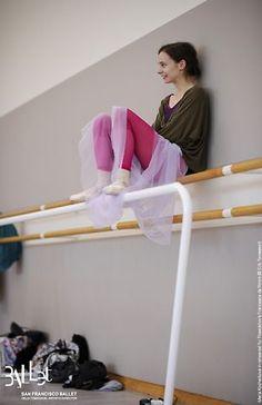 San Francisco Ballet. haha LOVE Maria Kochetkova:)