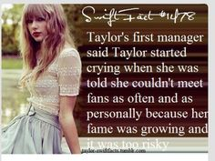 Taylor swift fact