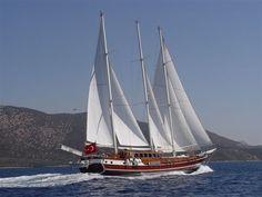 Turkish blue cruise on board sailing yacht Dolce Vita gulet