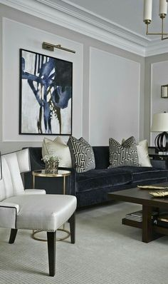 glam living room modern home decor