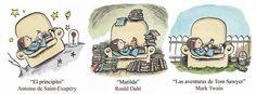New music now Roald Dahl, Matilda, Mark Twain, Humor Grafico, Inspirational Books, I Love Books, New Music, Book Worms, Book Art