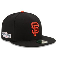 San Francisco Giants New Era 2016 Postseason Side Patch 59FIFTY Fitted Hat - Black -