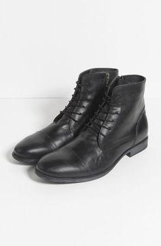 Boots en cuir zippé Soldes Chaussures, Chaussures Homme, Boots Homme Cuir,  Pochette Homme e8a225a5671