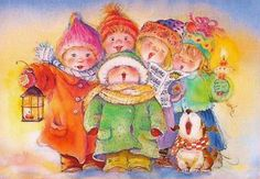 Lisi Martin...singing Christmas carols:)