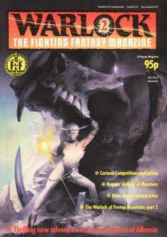 Steve Jackson and Ian Livingstone in Penguin's now legendary Fighting Fantasy series the illustrations by the British artist Peter Andrew Jones...