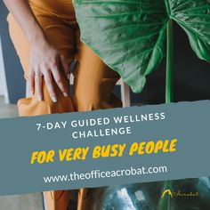 Improve concentration, wellbeing, vitality and optimise your time, by introducing healthy daily habits in to your routine (only 20-minutes per day) #stressrelieftips #stressmanagement #healthylifestyle #theofficeacrobat #wellnesschallenge #wellnessthatworks