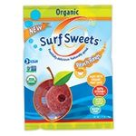 Surf Sweets - 227484 - Natural & Organic Candy Organic Peach Rings 2.75 oz. bags (a)