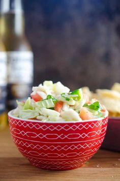 A crisp refreshing Cabbage Salsa with cabbage, onion, tomato, cilantro, jalapeno and lime. Best Tartar Sauce Recipe, Homemade Tartar Sauce, Peanut Sauce Recipe, Spicy Peanut Sauce, Sauce Recipes, Cooking Recipes, Mexican Cabbage Salsa, Ambrosia Recipe, Fresh Salsa Recipe
