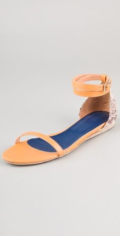 Blush and Snake print would a great everyday sandal