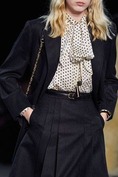 Celine Fall 2019 Ready-to-Wear Fashion Show - Vogue Fashion Mode, Moda Fashion, Fashion Week, Curvy Fashion, Urban Fashion, Fashion Show, Womens Fashion, Fashion Tips, Fashion Websites