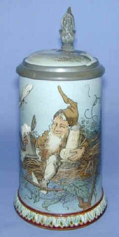 Image detail for -Mettlach Beer Steins: An Introduction --by Walt vogdes
