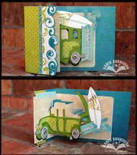 Beach Wagon convertible card (from the Pop-up 2torial video)