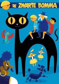 De zwarte bomma - cover Jommeke children's comic 2013 - by Maarten Vandewiele (belgian artist)