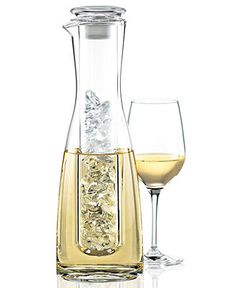 Wine Enthusiast Barware, 2 Piece Wine Chilling Carafe - Bar & Wine Accessories - Dining & Entertaining - Macy's - perfect for white
