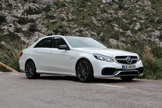A 4-door sedan that can rival most traditional super sports cars? That's the new E 63 AMG S-Model.