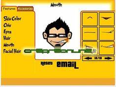 Creare avatar personalizzati: crea te stesso stile cartoon -> http://www.creareonline.it/2008/02/creare-avatar-personalizzati-crea-te-stesso-stile-cartoon-00114.html By Creareonline.it