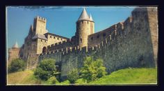 Visit to a medieval castle and village in Carcassonne Medieval Castle, Barcelona Cathedral, France, Places, Travel, Viajes, Trips, Traveling, Tourism