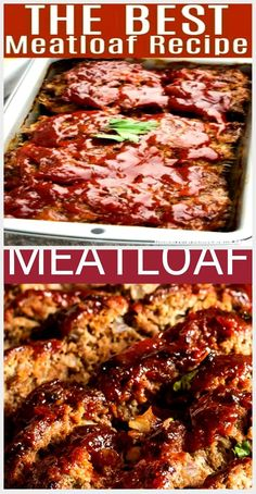 The perfect simple ground beef recipe. Also the best meatloaf! The perfect simple ground beef recipe. Good Meatloaf Recipe, Best Meatloaf, Onion Soup Meatloaf, Ground Beef Recipes, Chicken Wings, Great Recipes, Good Things, Simple