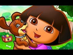 Dora La Exploradora Español Dora's Alphabet Forest Adventure Game - Dora The Explorer Abc Song - YouTube
