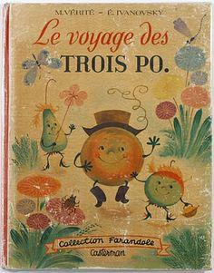 ''Le Voyage Des Trois Po'', illus. Elizabeth Ivanovsky