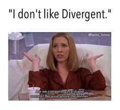 #Divergent