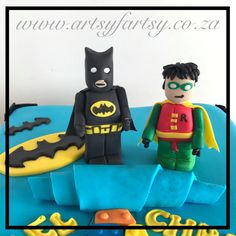Lego Batman Cake #legobatmancake Lego Batman Cakes, Lego Cake, Superhero Cake, Cupcake Cakes, Cupcakes, Character, Lettering, Cupcake, Cup Cakes