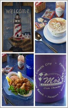 Mo's Seafood along Cannon Beach off of Oregon Coast