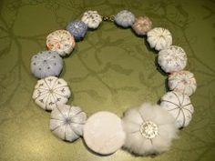 necklace, tissue, pumpkin