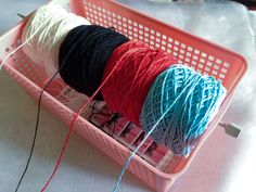 crochet rockstar: Yarns Organizing Idea