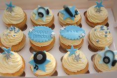 DJ cupcakes