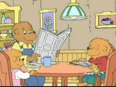 The Berenstain Bears - Big Bear, Small Bear--->Be proactive, Put First Things First